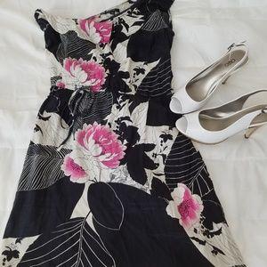 DREW Dresses - Drew medium one shoulder dress